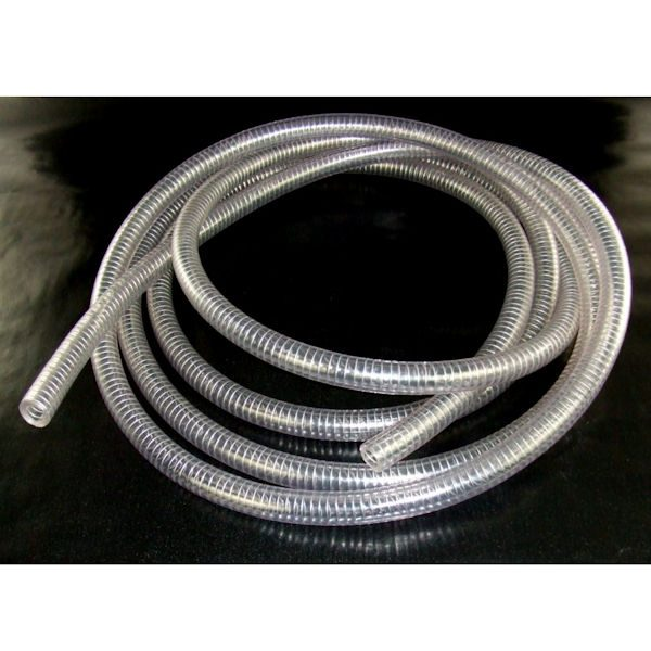 TK050 1/2 inch reinforced clear suction hose